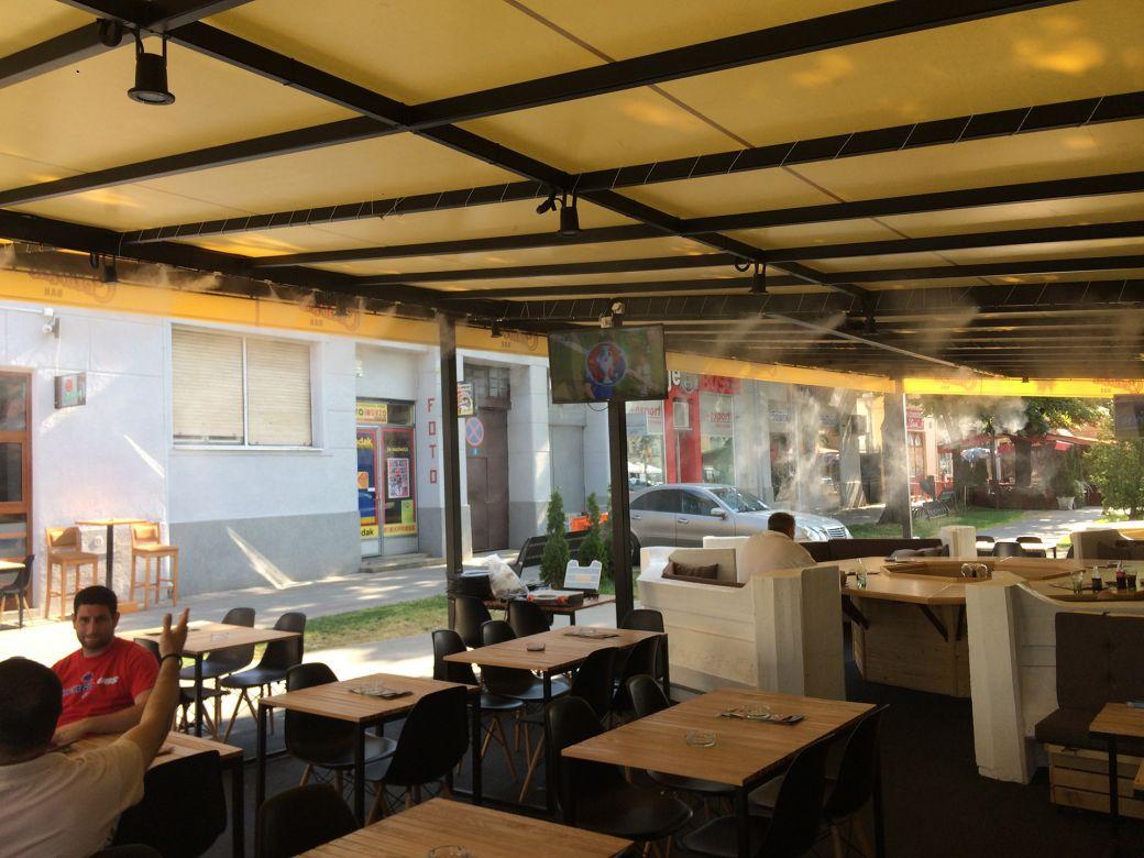 Centar Cafe - Stara Pazova vodena magla