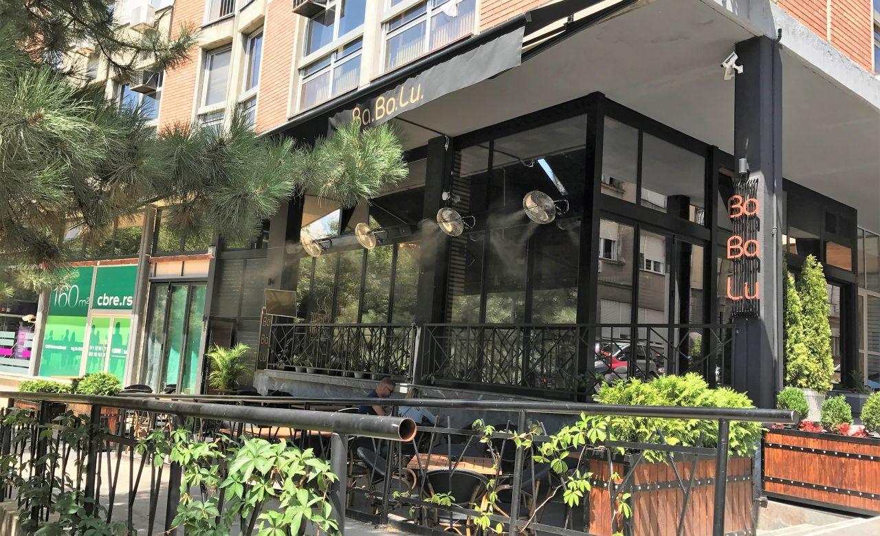 Prskalice za bašte kafića