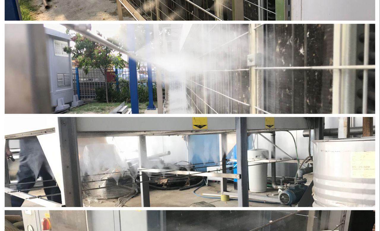 Predhlađenje hladnjaka kondenzatora